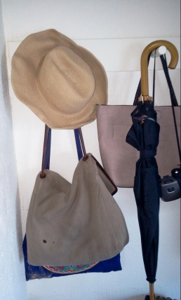 2014-07-13 Hat Bags Umbrella Mudroom