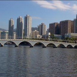 Shing Mun River, Sha Tin.