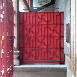 Main entrance, Shau Kei Wan tin Hau Temple.