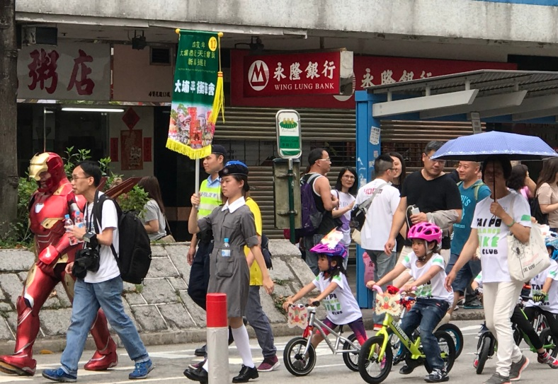Tin Hau Procession, Tai Po (April 2018)