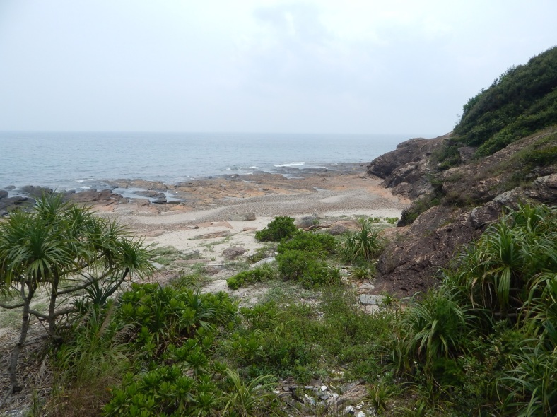 Tung Ping Chau Beach View_APR 2016